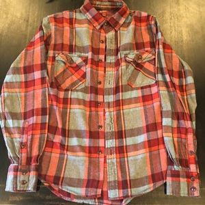 Men's Arizona Jeans Company Flannel Shirt